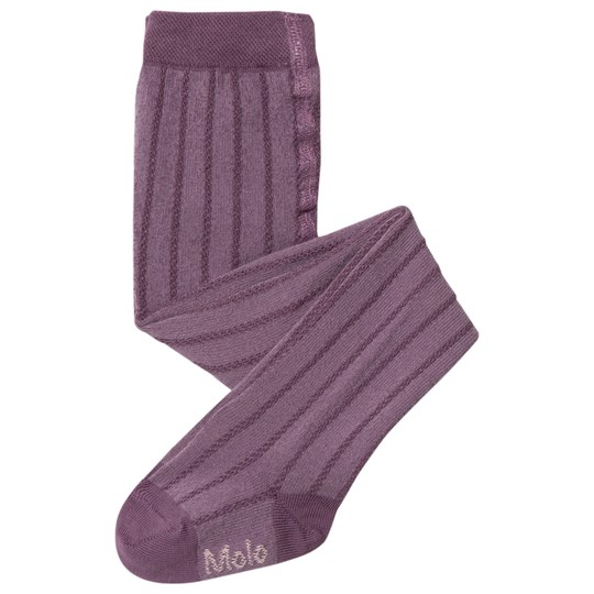 Molo Structured Tights Purple Mist Purple Mist