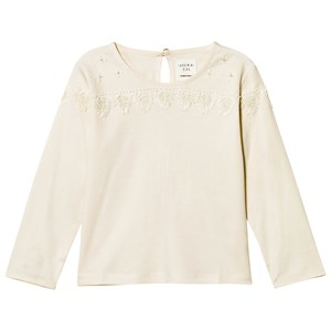 Image of Carrément Beau Ivory Beaded Detail Top 2 years (2743718235)