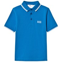 BOSS Turquoise Branded Polo 837