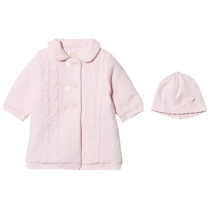 Image of Emile et Rose Lucy Pink Padded Knit Coat with Hat 23 months (2743767357)