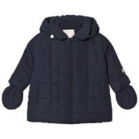 Emile et Rose Navy Padded Coat Navy