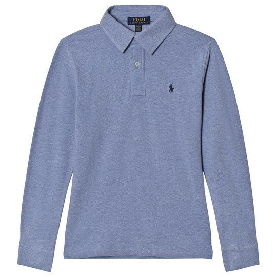 Ralph Lauren Blue Campus Polo Tee 001