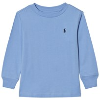 Ralph Lauren Blue Long Sleeve Tee with Small PP 005