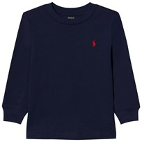 Ralph Lauren Nevy Long Sleeve Tee with Small PP 012