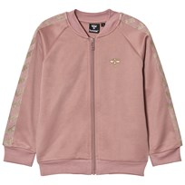 Hummel Olga Zip Tröja Wood Rose/Guld WOOD ROSE