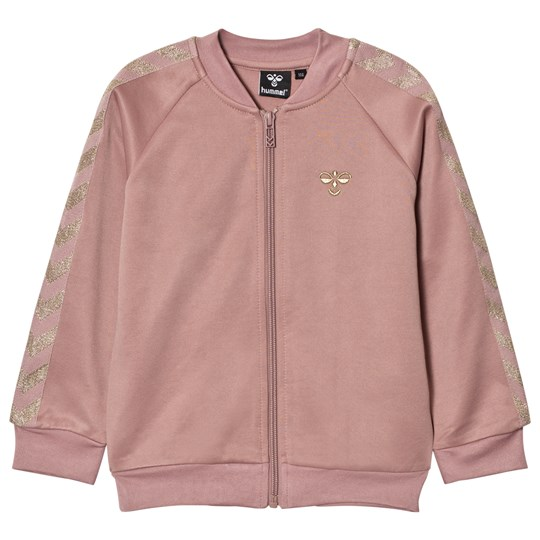 Hummel Olga Zip Sweater Wood Rose Gold WOOD ROSE