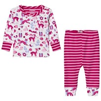 Hatley Cream Forest Animal Pyjamas Cream