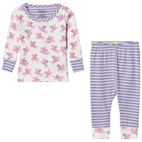 Hatley Cream Unicorn Print Pyjamas Cream