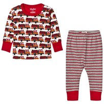 Hatley Red Fire Trunk Print Pyjamas Red