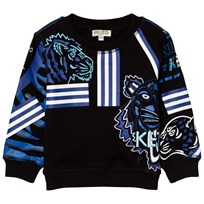 Kenzo Black All Over Icons Printed Sweater 271