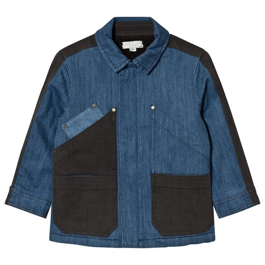 Stella McCartney Kids Denim Chase Jacka Blå/Mörkgrå 1074