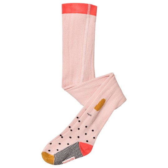 Catimini Pink Face and Spot Tights 32