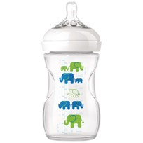 Philips Avent Elephant Natural Feeding Bottle 260 ml (9 oz) Beige