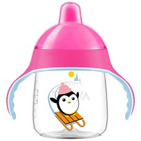 Philips Avent Penguin Spout Cup 260 ml (9 oz) Pink Pink
