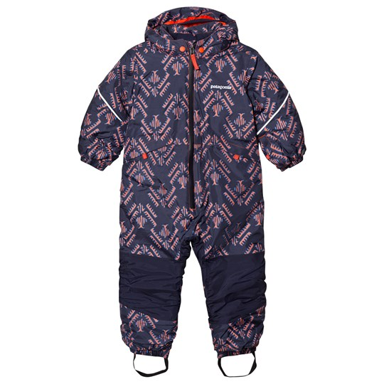 Patagonia Baby Snow Pile Overall Riverbird Riverbird: Paintbrush Red