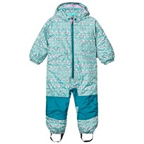 Patagonia Baby Snow Pile One-Piece Sockeye Scales: Strait Blue Sockeye Scales: Strait Blue