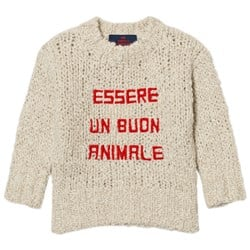 The Animals Observatory Bull Sweater Red