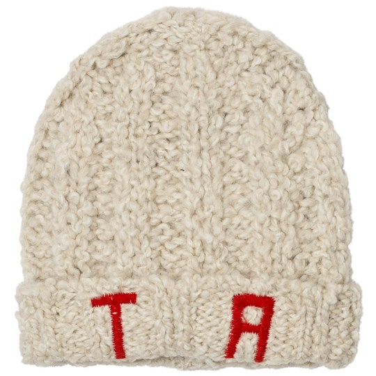 The Animals Observatory Pony Knit Beanie Red