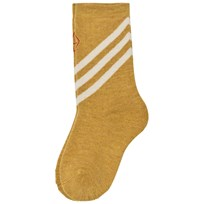 The Animals Observatory Skunk Socks Yellow Yellow