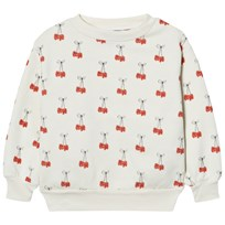 The Animals Observatory Bear Sweatshirt White Cherries White Cherries