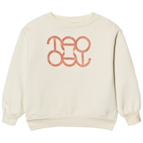 The Animals Observatory Bear Sweatshirt White Tao Logo White Tao Logo