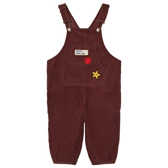 The Animals Observatory Mechanic Overalls Red Garnet Red Garnet