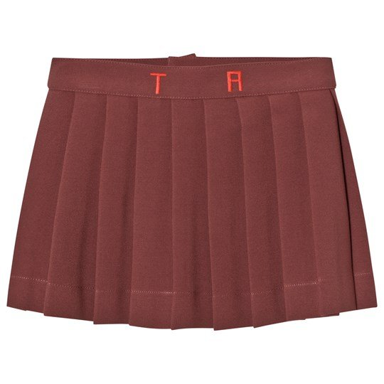 The Animals Observatory Turkey Skirt Red Garnet Tao Initials Red Garnet Tao Initials