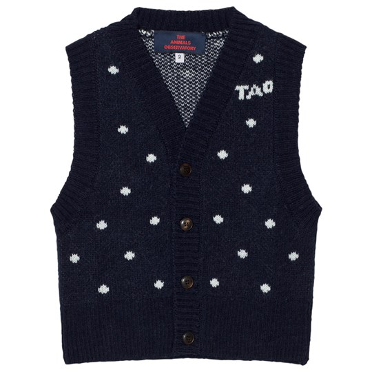 The Animals Observatory Bat Vest Deep Blue Deep Blue