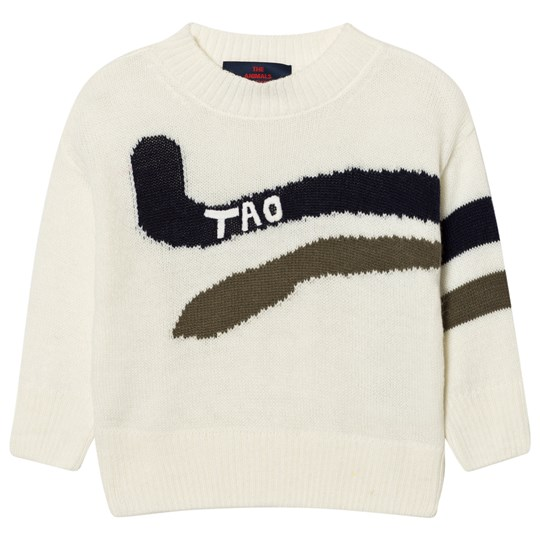 The Animals Observatory Bull Sweater Navy Blue Navy Blue