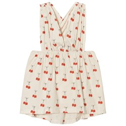 The Animals Observatory Goose Dress White Cherries