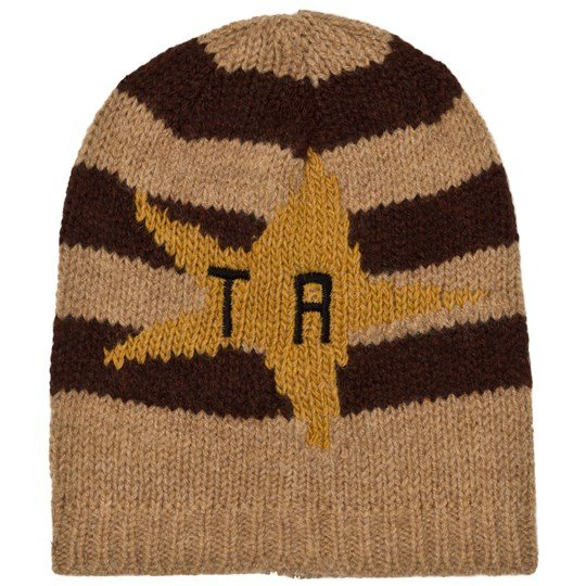 The Animals Observatory Pony Knit Beanie Deep Brown Deep Brown