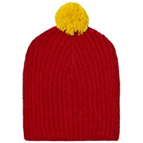 The Animals Observatory Pony Knit Beanie Red Red