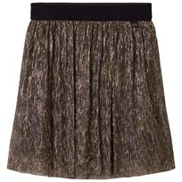 Little Marc Jacobs Gold Pleated Midi Skirt M15