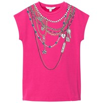 Little Marc Jacobs Pink Necklace Jersey Dress 49A