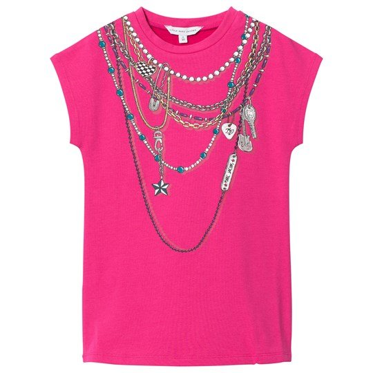 The Marc Jacobs Pink Necklace Jersey Dress 49A