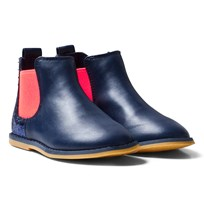 Billieblush Navy Glitter Back Chelsea Boot 849