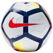 NIKE Strike Premier League Soccer Ball WHITE/CRIMSON/DEEP ROYAL/CRIMSON