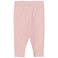 Tinycottons Grid Byxor Ljusrosa/Röd Pale Pink / Red