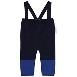 Tinycottons Color Block Baby Pant Dark Navy/Blue
