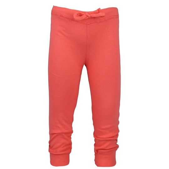 How To Kiss A Frog Basic Leggings Coral Pink