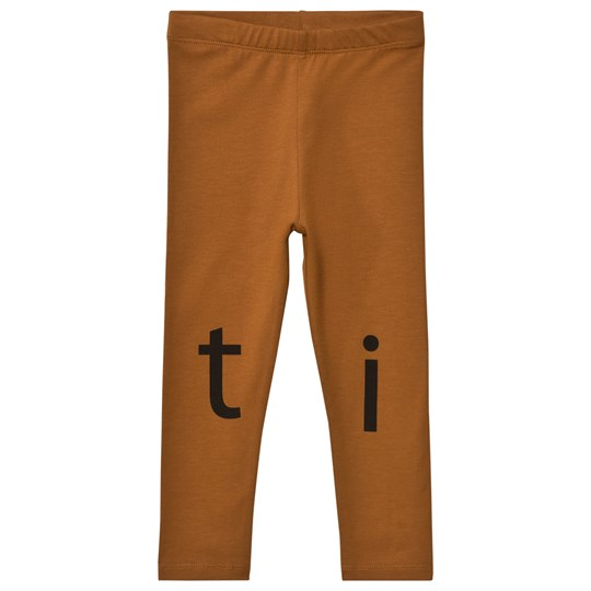 Tinycottons T-I-N-Y Logo Pant Brown/Black Brown / Black