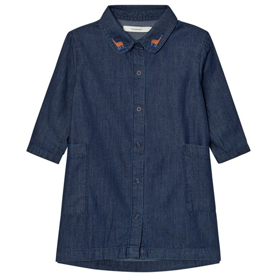 Tinycottons Denim Shirt Dress Denim