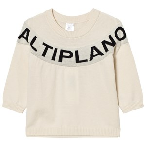 Image of Tinycottons Altiplano Sweater Oversized Beige/Black 10 år (2858810469)