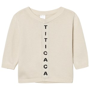 Image of Tinycottons Titicaca Knit Cardigan Beige/Black 10 år (2743812879)