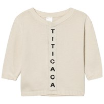 Tinycottons Titicaca Knit Cardigan Beige/Black Beige / Black