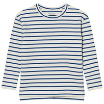 Tinycottons Stripes Tee Beige/Blue Beige