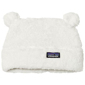 Image of Patagonia Baby Furry Friends Hat Birch White 12-24 mdr (3125332513)