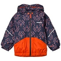 Patagonia Baby Snow Pile Jacket Riverbird Paintbrush Red Riverbird: Paintbrush Red