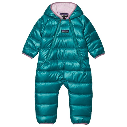 3c1a60553 Patagonia - Infant Hi-Loft Down Sweater Bunting Coverall Elwha Blue ...