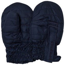 Patagonia Baby Puff Mittens Navy Blue